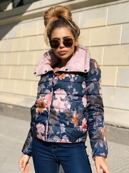 Разноцветная курточка с плащовки