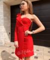 Платье на один рукав
