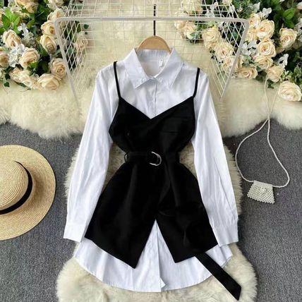 Сарафан+платье-рубашка