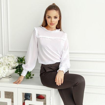 Блуза рюшики