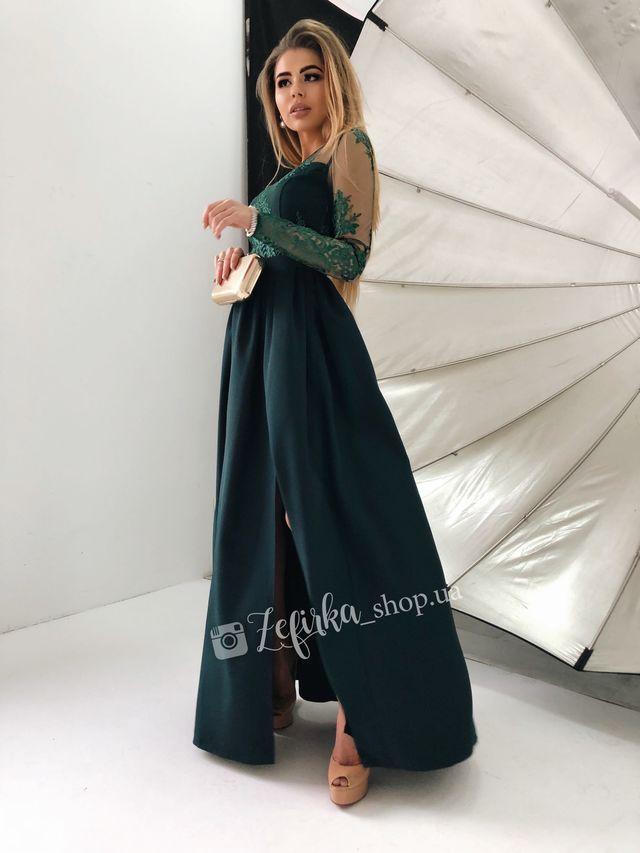 Длинное красивое платье