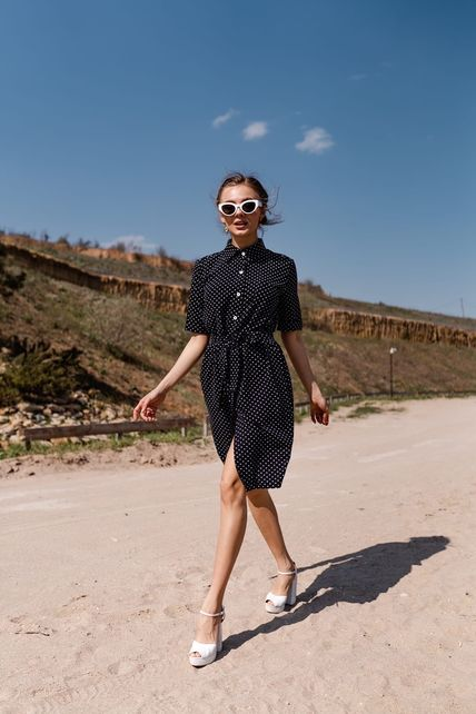 Платье под поясок