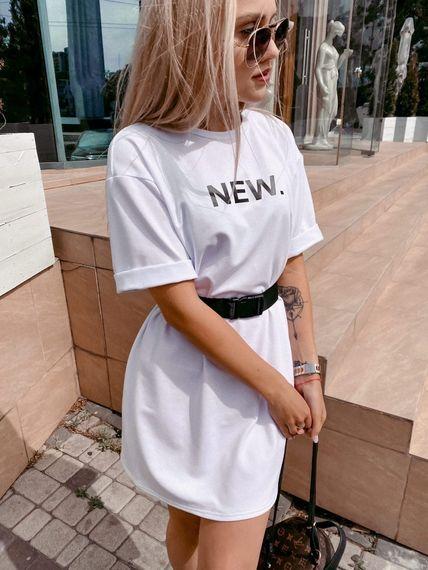 Платье футболка