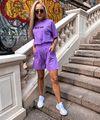 Фиолетовый костюм